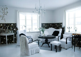 Bildnr.: 11017661<br/><b>Feature: 00790027 - Klare Kontraste</b><br/>Haus eines Fotografen in Gustafs, Schweden<br />living4media / Bj&#246;rnsdotter, Magdalena