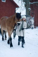 Bildnr.: 11017709<br/><b>Feature: 00790027 - Klare Kontraste</b><br/>Haus eines Fotografen in Gustafs, Schweden<br />living4media / Bj&#246;rnsdotter, Magdalena