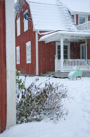 Bildnr.: 11017711<br/><b>Feature: 00790027 - Klare Kontraste</b><br/>Haus eines Fotografen in Gustafs, Schweden<br />living4media / Bj&#246;rnsdotter, Magdalena