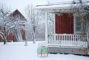 Bildnr.: 11017713<br/><b>Feature: 00790027 - Klare Kontraste</b><br/>Haus eines Fotografen in Gustafs, Schweden<br />living4media / Bj&#246;rnsdotter, Magdalena