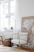 Bildnr.: 11006653<br/><b>Feature: 00790114 - Spiel der Kontraste</b><br/>A country house belonging to an interior designer, Niederlande<br />living4media / Claessens, Bieke