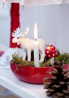 Bildnr.: 11074347<br/><b>Feature: 00790199 - Weihnachten in Wien</b><br/>Weihnachten ist ein Bastelfest f&#252;r die Familie M&#252;ller<br />living4media / Bauer, Christine