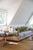 Bildnr.: 11017115<br/><b>Feature: 11017085 - Heller Hochsitz</b><br/>Wohnen im Dachgeschoss eines ehemaligen Postamtes<br />living4media / Heinze, Winfried