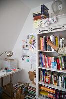 Bildnr.: 11017151<br/><b>Feature: 11017085 - Heller Hochsitz</b><br/>Wohnen im Dachgeschoss eines ehemaligen Postamtes<br />living4media / Heinze, Winfried