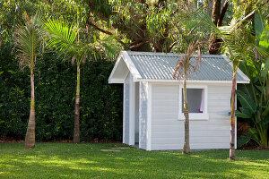 Bildno.: 11018597<br/><b>Feature: 11018591 - Relaxed but stylish</b><br/>Hamptons style beach house near Palm Beach<br />living4media / Bayside