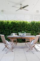 Bildno.: 11018649<br/><b>Feature: 11018591 - Relaxed but stylish</b><br/>Hamptons style beach house near Palm Beach<br />living4media / Bayside