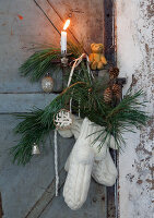 Bildno.: 11032649<br/><b>Feature: 11032638 - Shabby Chic Christmas</b><br/>Vintage Christmas decorations<br />living4media / Bauer, Christine