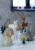 Bildnr.: 11032651<br/><b>Feature: 11032638 - Vintage Christmas</b><br/>Vintage-Weihnachts-Dekorationen<br />living4media / Bauer, Christine