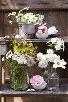 Bildnr.: 11063695<br/><b>Feature: 11063685 - Edel &amp; wild</b><br/>Ideen f&#252;r kreative Blumenstr&#228;u&#223;e<br />living4media / Sch&#252;tz, Anke