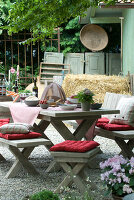 Bildno.: 11064275<br/><b>Feature: 11064272 - A little Time-out</b><br/>Ideas for the garden and balcony<br />living4media / Manduzio, Matteo