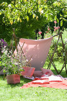 Bildno.: 11064281<br/><b>Feature: 11064272 - A little Time-out</b><br/>Ideas for the garden and balcony<br />living4media / Manduzio, Matteo