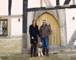 Bildno.: 11147359<br/><b>Feature: 11147357 - Link to the Past</b><br/>Refurbishing a 15th century farm house in Kent<br />living4media / Smith, Rachael