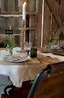 Bildno.: 11151839<br/><b>Feature: 11151837 - Celebrate Autumn</b><br/>Barn party is a feast for all senses<br />living4media / Annette &amp; Christian
