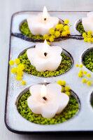 Bildno.: 11183027<br/><b>Feature: 11182973 - Beyond Baking</b><br/>Decorating ideas using baking pans<br />living4media / Taube, Franziska