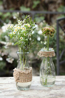 Bildno.: 11195049<br/><b>Feature: 11195046 - Sackcloth and String</b><br/>Great things for the garden made of simple materials<br />living4media / Raider, Peter