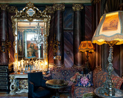Bildno.: 11213071<br/><b>Feature: 11213061 - Staged for Living</b><br/>Stage designer&#39;s Baroque apartment in Vienna<br />living4media / von Oswald, Yvonne