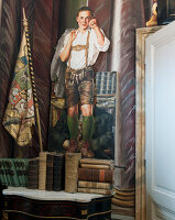 Bildno.: 11213073<br/><b>Feature: 11213061 - Staged for Living</b><br/>Stage designer&#39;s Baroque apartment in Vienna<br />living4media / von Oswald, Yvonne