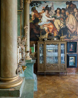 Bildno.: 11213081<br/><b>Feature: 11213061 - Staged for Living</b><br/>Stage designer&#39;s Baroque apartment in Vienna<br />living4media / von Oswald, Yvonne