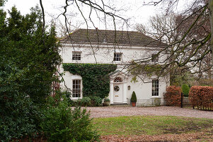 Bildnr.: 11216229<br/><b>Feature: 11216227 - Wo Weihnachten wohnt</b><br/>Klassisch dekoriertes Landhaus in Nottinghamshire, England<br />living4media / von Einsiedel, Andreas