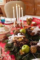 Bildnr.: 11216259<br/><b>Feature: 11216227 - Wo Weihnachten wohnt</b><br/>Klassisch dekoriertes Landhaus in Nottinghamshire, England<br />living4media / von Einsiedel, Andreas
