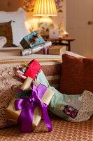 Bildnr.: 11216273<br/><b>Feature: 11216227 - Wo Weihnachten wohnt</b><br/>Klassisch dekoriertes Landhaus in Nottinghamshire, England<br />living4media / von Einsiedel, Andreas
