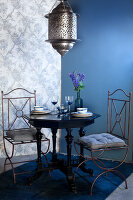 Bildno.: 11223645<br/><b>Feature: 11223640 - A Rhapsody in Blue</b><br/>Decorating with shades of blue<br />living4media / Annette &amp; Christian