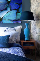Bildno.: 11223655<br/><b>Feature: 11223640 - A Rhapsody in Blue</b><br/>Decorating with shades of blue<br />living4media / Annette &amp; Christian