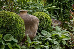 Bildno.: 11223691<br/><b>Feature: 11223659 - Green and Grand</b><br/>Romantic garden in Limburg, Belgium<br />living4media / Pietrek, Sibylle