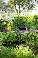 Bildnr.: 11223721<br/><b>Feature: 11223710 - Formvollendet</b><br/>Heerenhof, ein idyllischer Garten in Maastricht<br />living4media / Pietrek, Sibylle