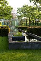 Bildnr.: 11223733<br/><b>Feature: 11223710 - Formvollendet</b><br/>Heerenhof, ein idyllischer Garten in Maastricht<br />living4media / Pietrek, Sibylle