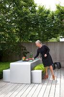 Bildnr.: 11242249<br/><b>Feature: 11242247 - L&#228;ssig leben in den D&#252;nen</b><br/>Modern gestaltetes Haus mit Meeresbrise in Nieuwpoort, Belgien<br />living4media / Claessens, Bieke