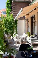Bildnr.: 11242263<br/><b>Feature: 11242247 - L&#228;ssig leben in den D&#252;nen</b><br/>Modern gestaltetes Haus mit Meeresbrise in Nieuwpoort, Belgien<br />living4media / Claessens, Bieke