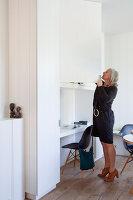 Bildnr.: 11242271<br/><b>Feature: 11242247 - L&#228;ssig leben in den D&#252;nen</b><br/>Modern gestaltetes Haus mit Meeresbrise in Nieuwpoort, Belgien<br />living4media / Claessens, Bieke