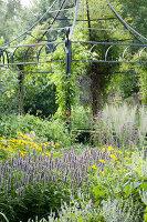 Bildnr.: 11306145<br/><b>Feature: 11306129 - Die feine englische Art</b><br/>Traumgarten im Englischen Stil, Belgien<br />living4media / Herwig, Modeste