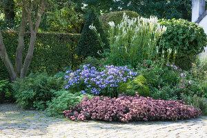 Bildnr.: 11306161<br/><b>Feature: 11306129 - Die feine englische Art</b><br/>Traumgarten im Englischen Stil, Belgien<br />living4media / Herwig, Modeste