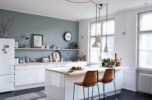 Bildno.: 11306361<br/><b>Feature: 11306352 - With Love for Design</b><br/>Designer&#39;s loft in Berlin<br />living4media / Thurmann, Stefan
