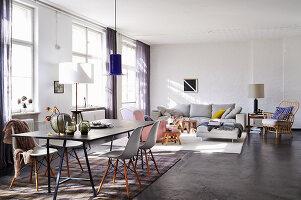Bildno.: 11306365<br/><b>Feature: 11306352 - With Love for Design</b><br/>Designer&#39;s loft in Berlin<br />living4media / Thurmann, Stefan