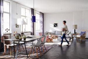 Bildno.: 11306367<br/><b>Feature: 11306352 - With Love for Design</b><br/>Designer&#39;s loft in Berlin<br />living4media / Thurmann, Stefan
