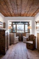 Bildnr.: 11308139<br/><b>Feature: 11308134 - Alpen-Idyll</b><br/>Rustikales Chalet in Cortina d&#39;Ampezzo, Italien<br />living4media / Cimarosti, Brando