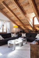 Bildnr.: 11308175<br/><b>Feature: 11308134 - Alpen-Idyll</b><br/>Rustikales Chalet in Cortina d&#39;Ampezzo, Italien<br />living4media / Cimarosti, Brando