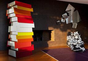 Bildnr.: 11321751<br/><b>Feature: 11321705 - Ein architektonischer W&#252;rfel</b><br/>Selbstdesigntes Haus mit ausgedehntem Aussenbereich f&#252;r die Freizeit, Italien<br />living4media / Rizzi, Laura