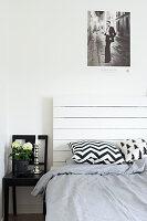 Bildnr.: 11321953<br/><b>Feature: 11321942 - Grafisches Nordlicht</b><br/>Modern, kreativ und schwarz-wei&#223;: So lebt eine junge Familie in Schweden<br />living4media / M&#246;ller, Cecilia