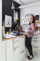 Bildnr.: 11325171<br/><b>Feature: 11325156 - Blogger-Style</b><br/>Das Zuhause von Bloggerin Tina in Kopenhagen ist eine wahre Inspirationsquelle!<br />living4media / Klazinga, Jansje