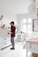 Bildnr.: 11325193<br/><b>Feature: 11325156 - Blogger-Style</b><br/>Das Zuhause von Bloggerin Tina in Kopenhagen ist eine wahre Inspirationsquelle!<br />living4media / Klazinga, Jansje
