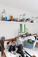 Bildnr.: 11325203<br/><b>Feature: 11325156 - Blogger-Style</b><br/>Das Zuhause von Bloggerin Tina in Kopenhagen ist eine wahre Inspirationsquelle!<br />living4media / Klazinga, Jansje