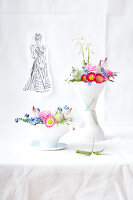 Bildno.: 11326229<br/><b>Feature: 11326207 - Forget-Me-Not</b><br/>Create your own beautiful arrangements using forget-me-nots<br />living4media / Weber, Cornelia