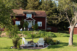 Bildno.: 11331291<br/><b>Feature: 11331251 - Rural Romantic</b><br/>Beautifully renovated house in Dalarna, Sweden<br />living4media / M&#246;ller, Cecilia