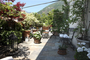 Zdjęcie numer: 11337985<br/><b>Feature: 11337955 - Mountain View</b><br/>Two storey apartment in Tirano, Italy<br />living4media / Sala, Gianni