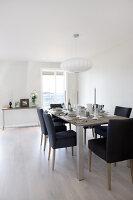 Bildno.: 11342677<br/><b>Feature: 11342672 - Norwegian Glamour</b><br/>Sleek and sumptuous home in Gj&#248;vik, Norway<br />living4media / Annette &amp; Christian