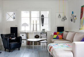 Bildno.: 11345559<br/><b>Feature: 11345553 - White and Bright</b><br/>Family home in Copenhagen<br />living4media / Lene-K